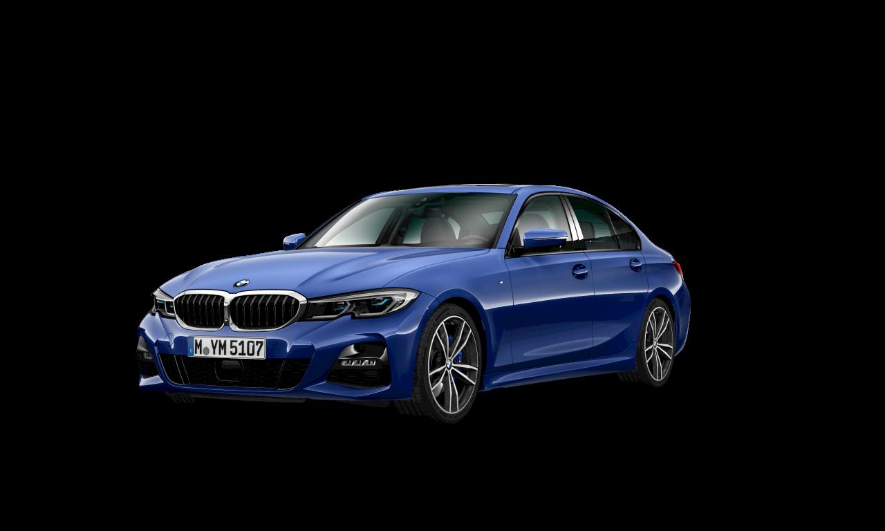 BMW 3シリーズ セダン M Sportサイド・ビュー。