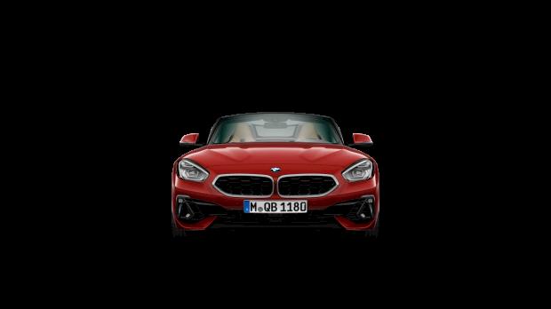 Vooraanzicht BMW Z4 sDrive20i