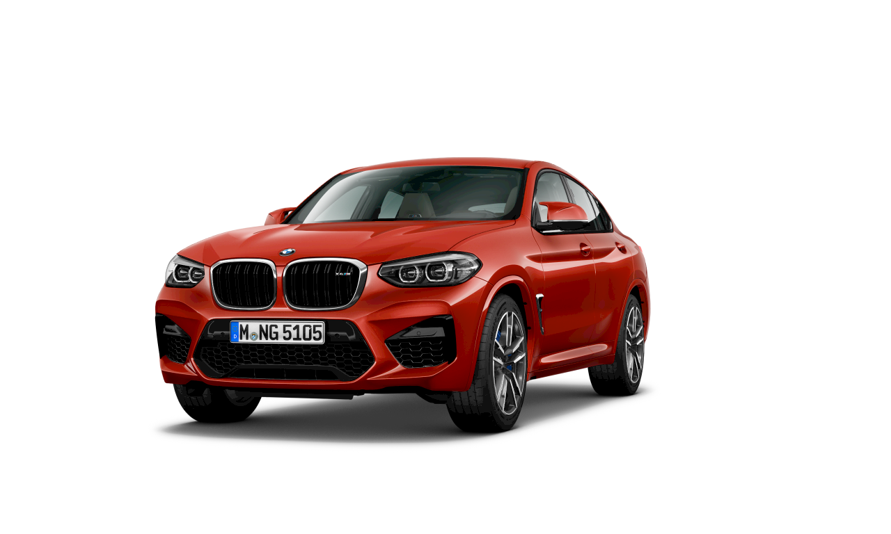BMW X4 M Competition,Toronto Red 金屬,外觀設計。