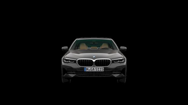 Vooraanzicht BMW 518d Sedan Executive