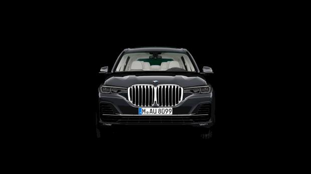 Vooraanzicht BMW X7 xDrive 40i