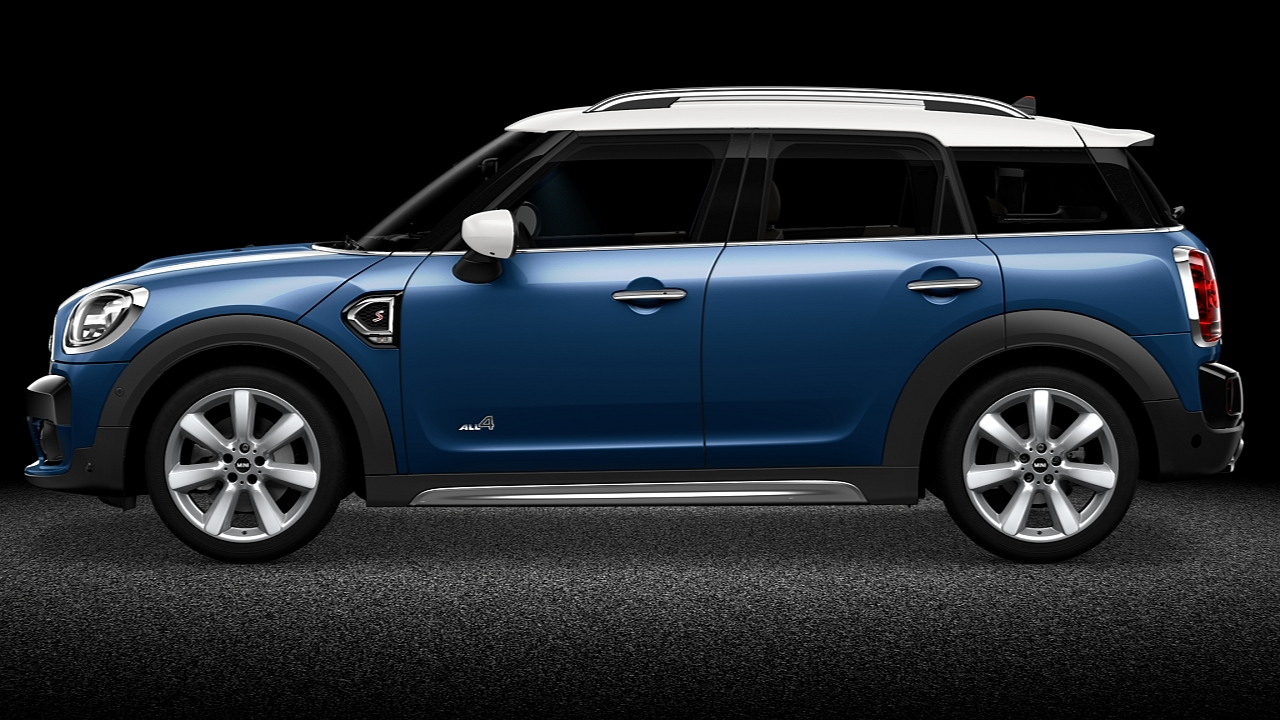 MINI Countryman ALL4 – Optisch Exterieurpack – Outdoorkarakter.