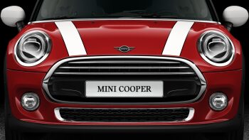 MINI Cooper 3 Door engine hood