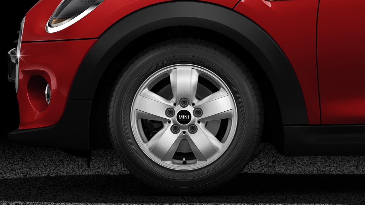 Rodas de liga leve do MINI Cooper 3 portas