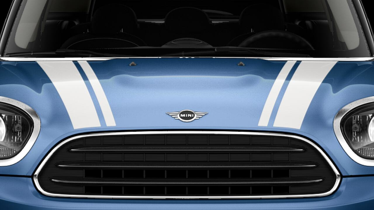 MINI Cooper Countryman – bonnet stripes