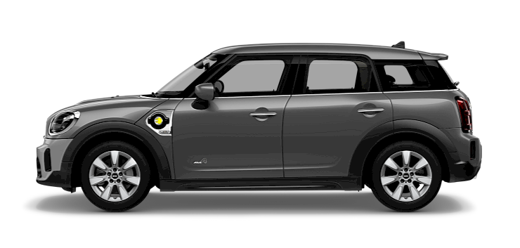 MINI Cooper SE Countryman - Side View - Essential Trim