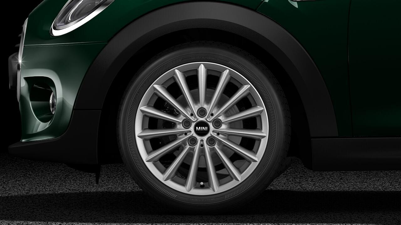 MINI ONE 5 Door Hatch multispoke light allow wheels