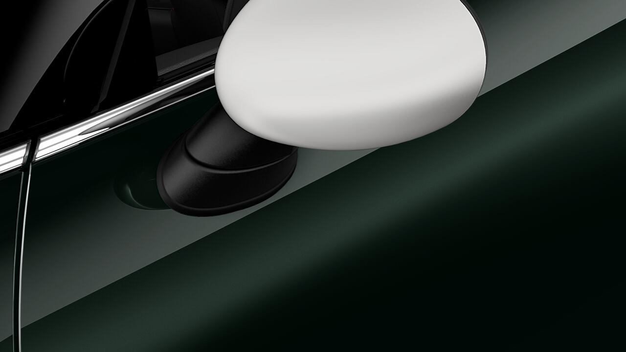 ミラー・キャップ:ボディー・カラー / ホワイト / ブラック / レッド