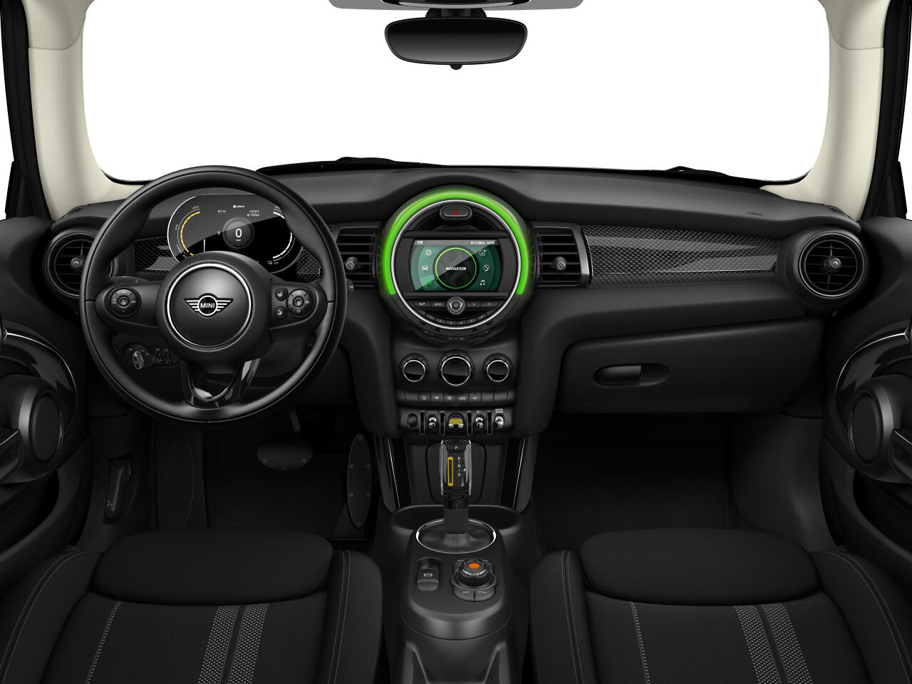 Mini electric – Package S – interior view - dashboard