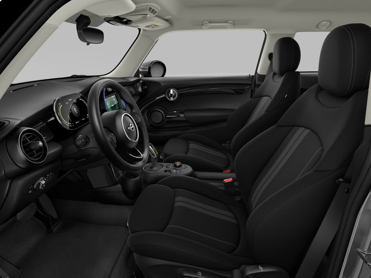 Mini electric – Package S – interior view - driver's side