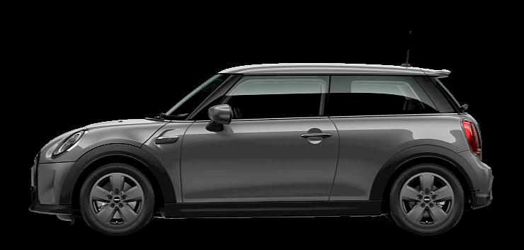 MINI 3 Door Hatch - Side View - Essential Trim