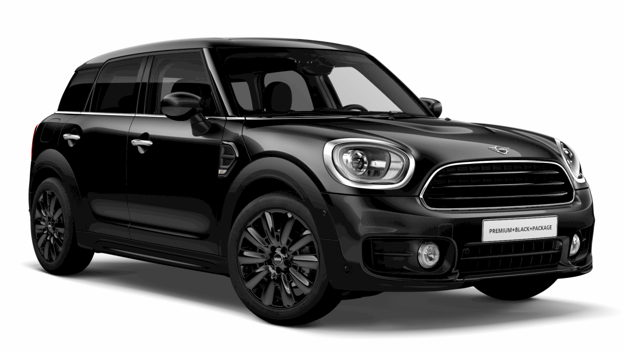 MINI ONE Countryman Blackwing Edition