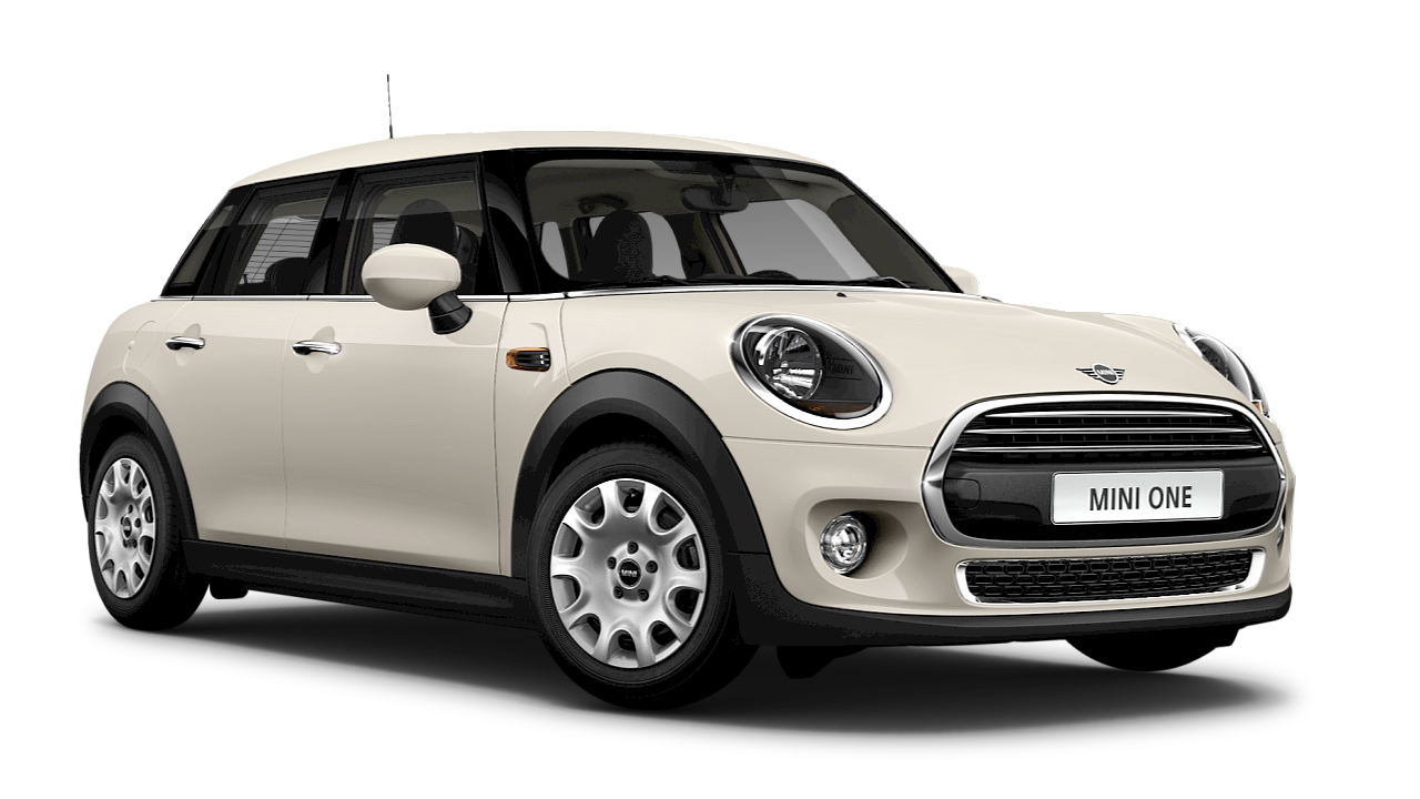 MINI One 5-door Hatch – grey – side view