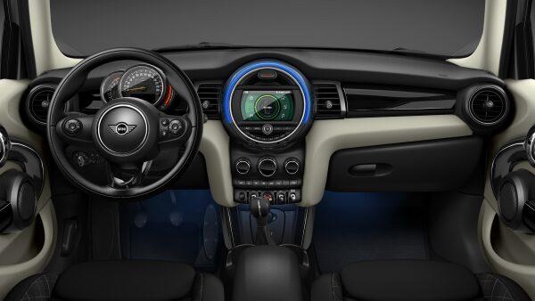 MINI Cooper Hatch 5 Door interior dashboard and steering wheel