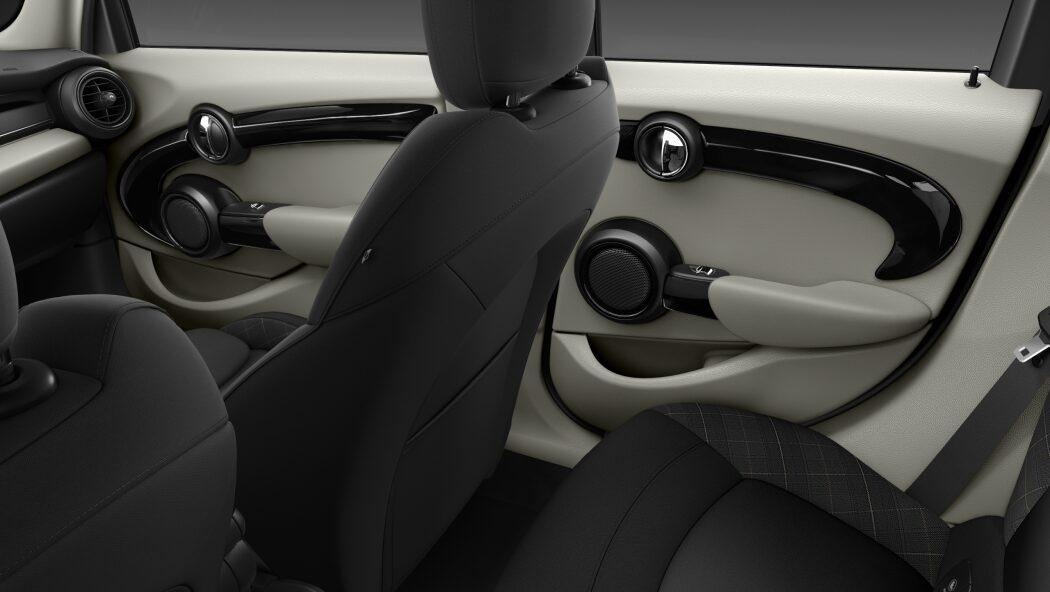 MINI Cooper Hatch 5 Door rear door design
