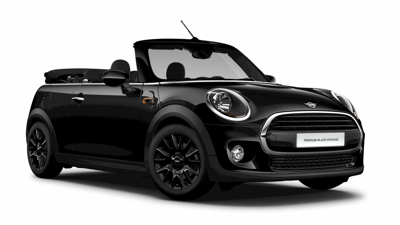 MINI ONE Cabrio Blackwing Edition