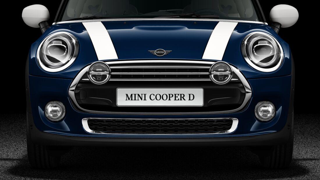 MINI Cooper D 3 Door frontL LED lights