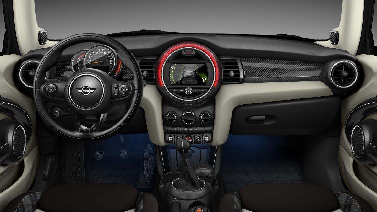 MINI Cooper D 3 Door interior dashboard view