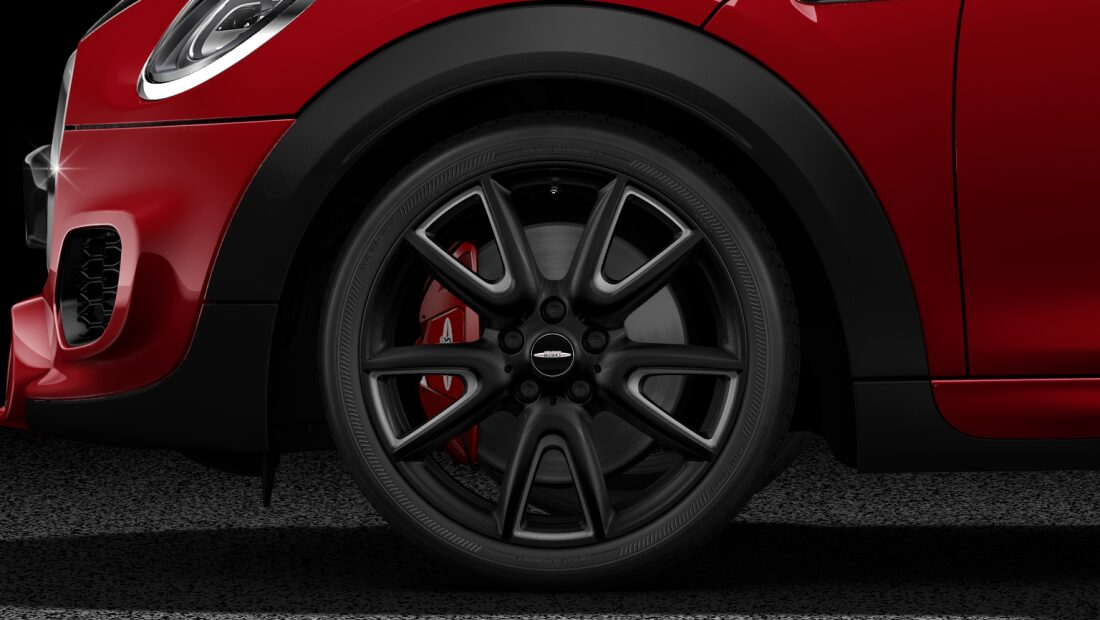 "MINI John Cooper Works Hatch pro 18"" double spoke 534 wheels"