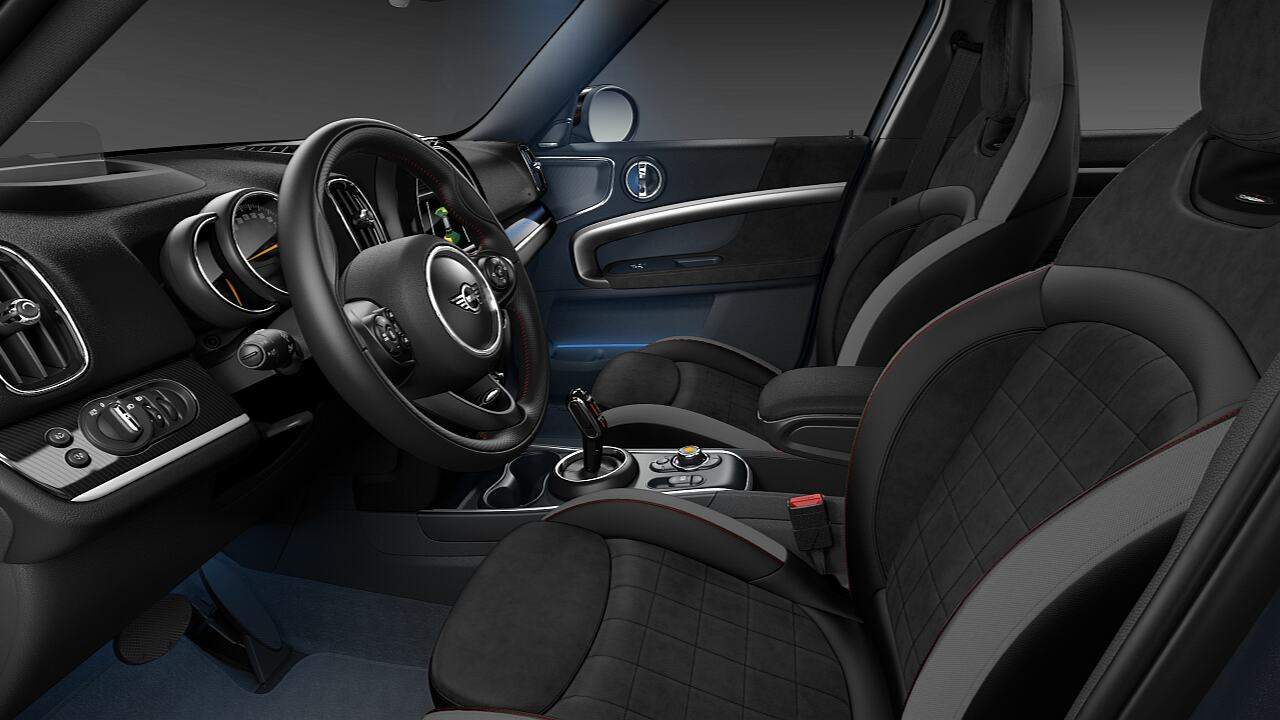 MINI Countryman JCW sport seats leather dinamica - SPORT.