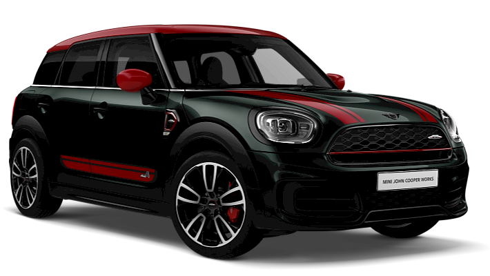MINI 3 Door Hatch - Front View - John Cooper Works Trim