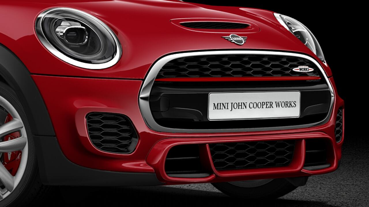 MINI John Cooper Works 3-door hatch