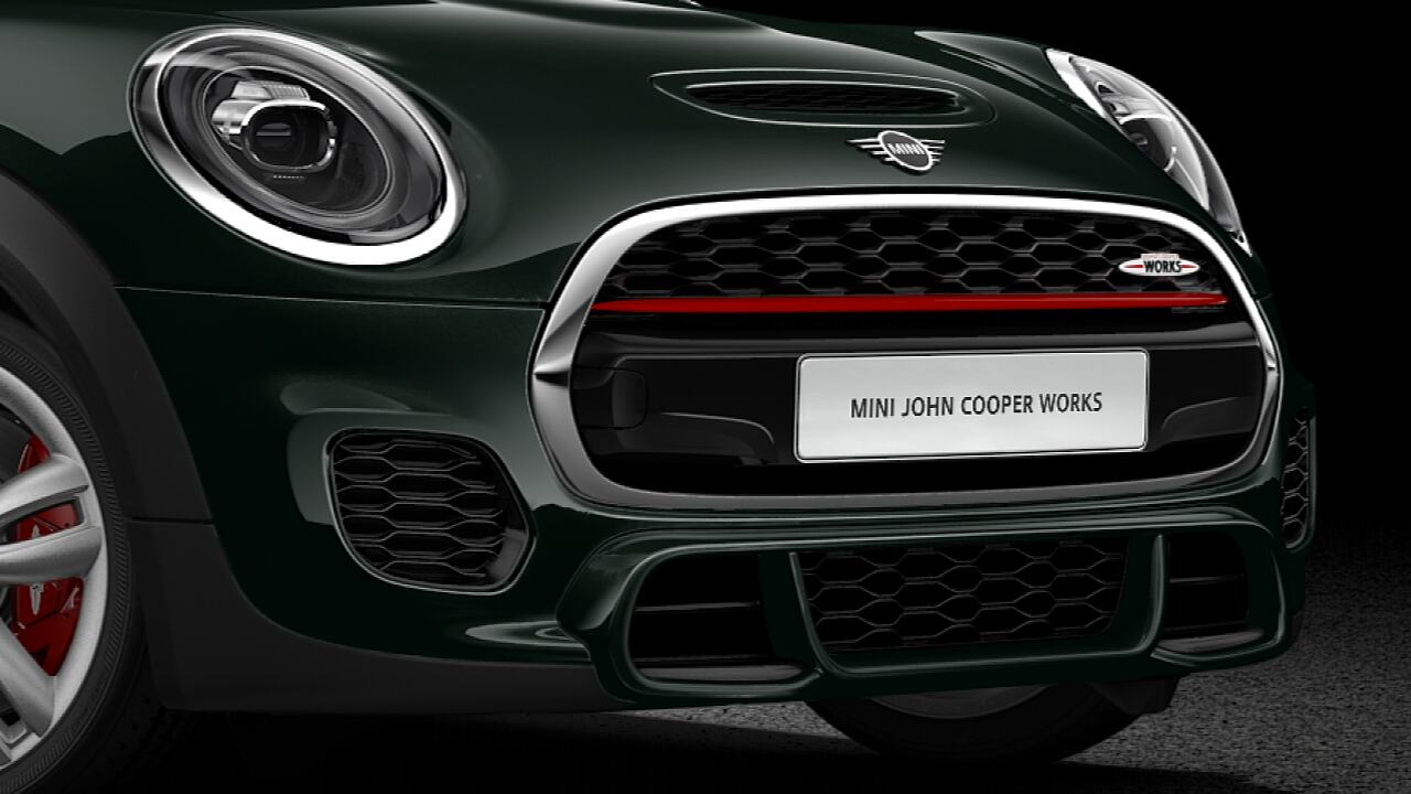 Þriggja dyra MINI John Cooper Works hatchback