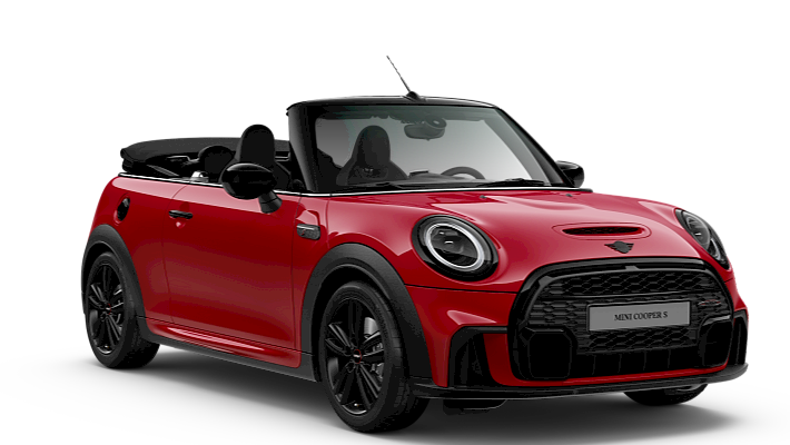 MINI John Cooper Works Convertible - Front View - John Cooper Works Trim