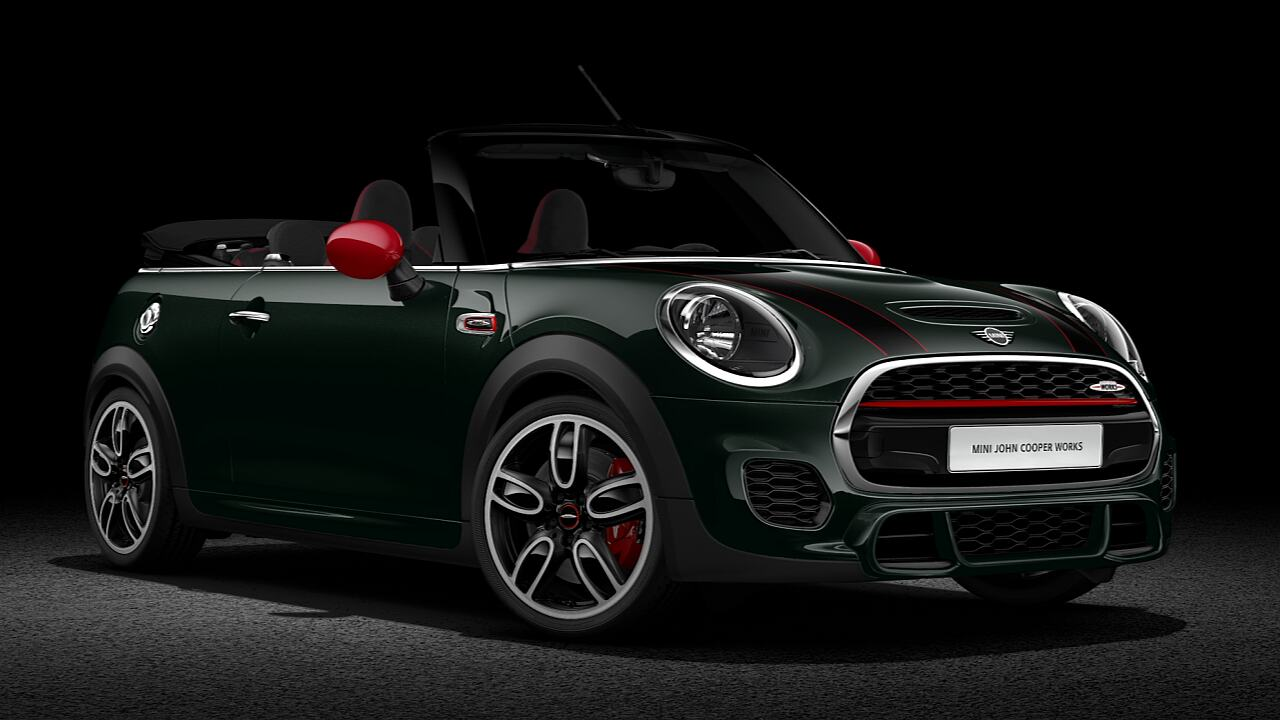 MINI John Cooper Works Convertible – side view