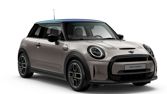 MINI Cooper SE 3 door - vista frontale - MINI Electric Collection