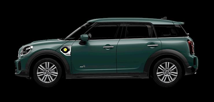 MINI Cooper SE Countryman - Side View - Classic Trim