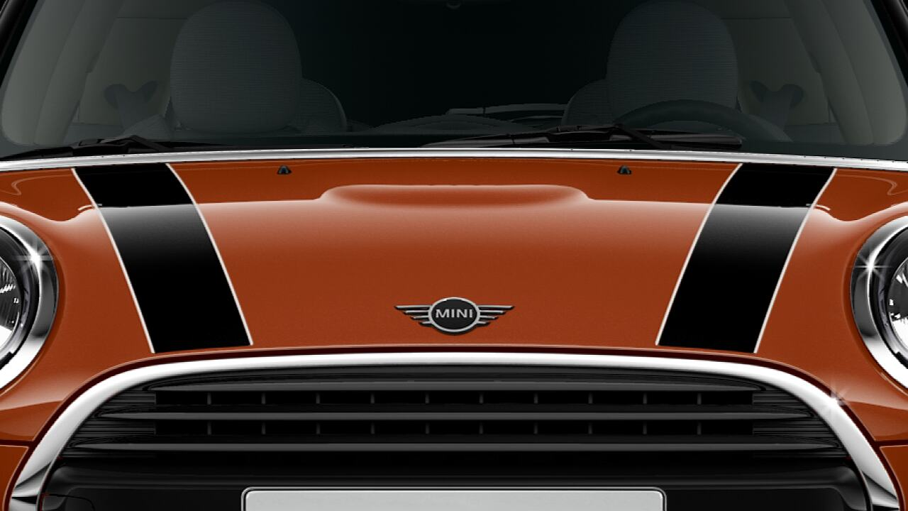 MINI Cooper 3-door Hatch – bonnet stripes