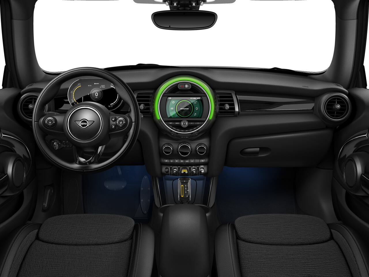 Mini electric – Package M – interior view - dashboard
