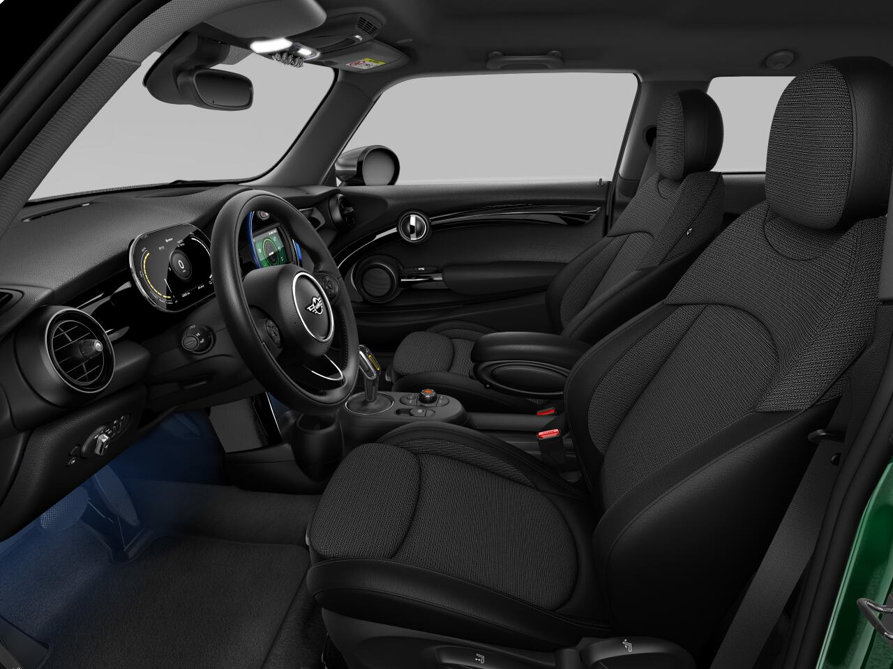 Mini electric – Package M – interior view - driver's side