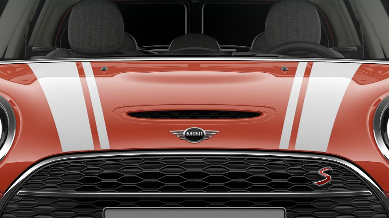 MINI Cooper S Clubman – bonnet stripes
