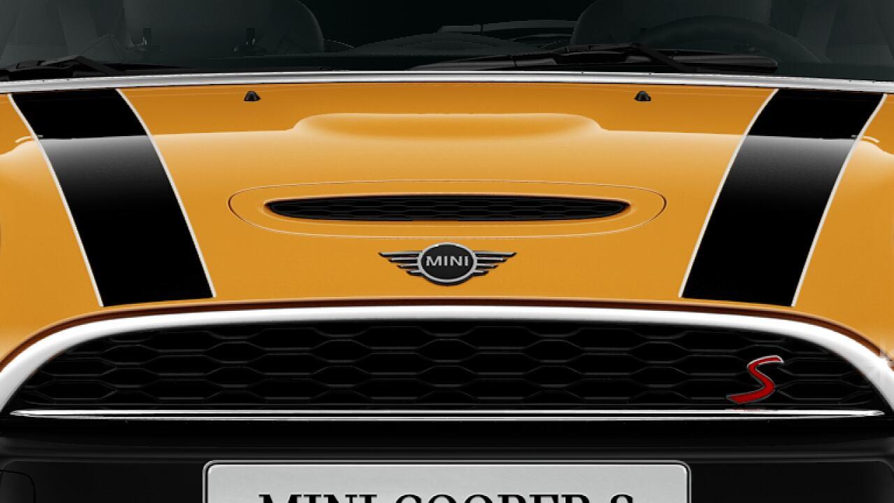 MINI Cooper s 3 Door Bonnet with S logo.