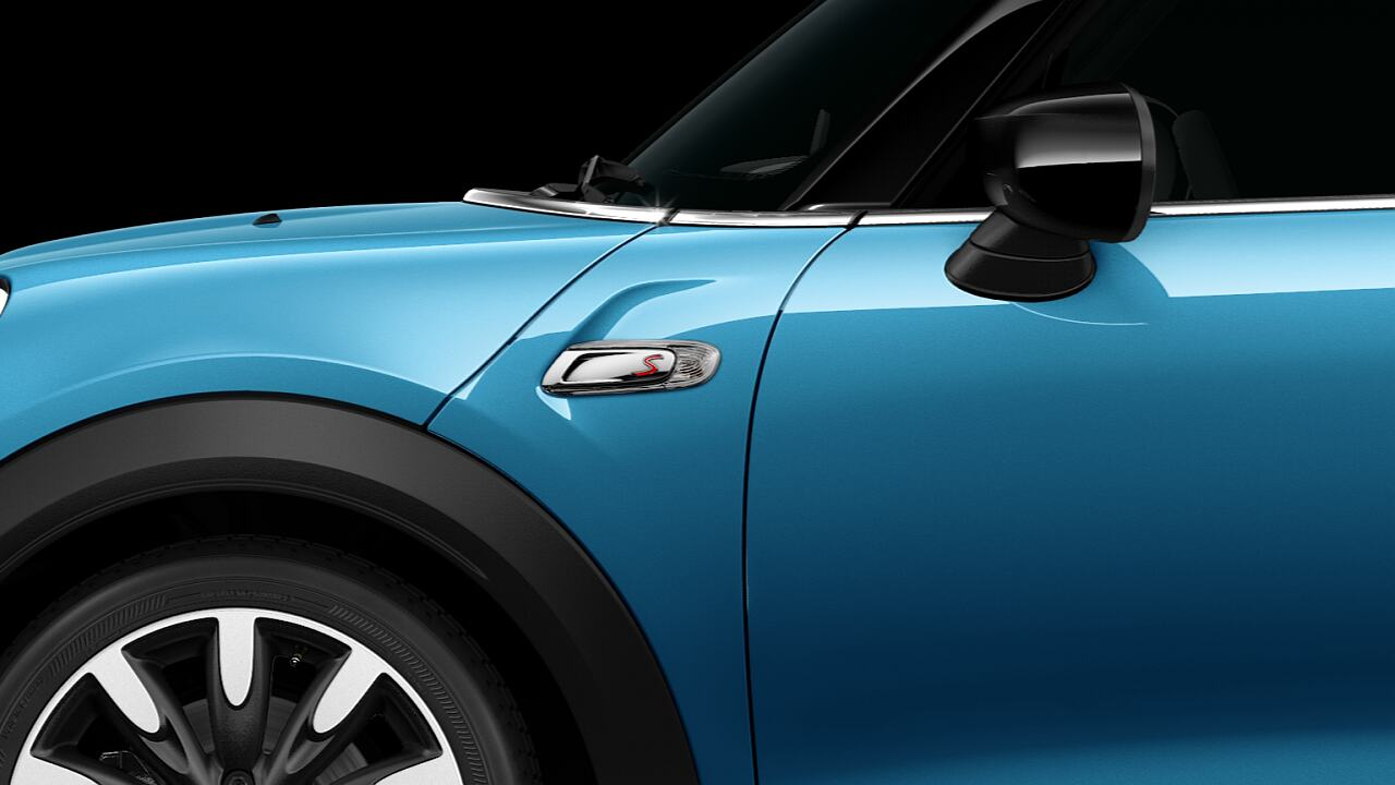 MINI Cooper S Hatch 5-Door side scuttles