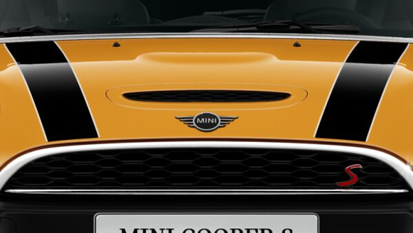 MINI Cooper s 3 Door Bonnet with S logo.