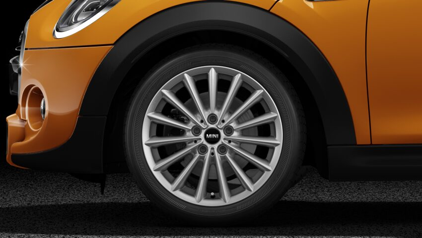 MINI Cooper S 3 Door Light Alloy Wheels