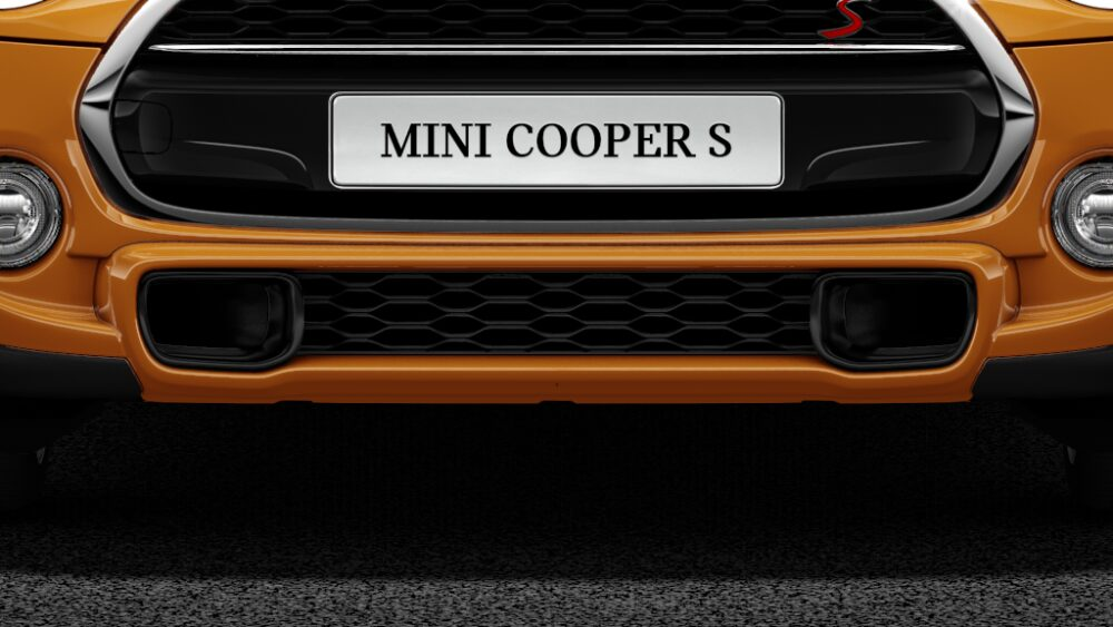 MINI Cooper S 3 Door Track style airducts