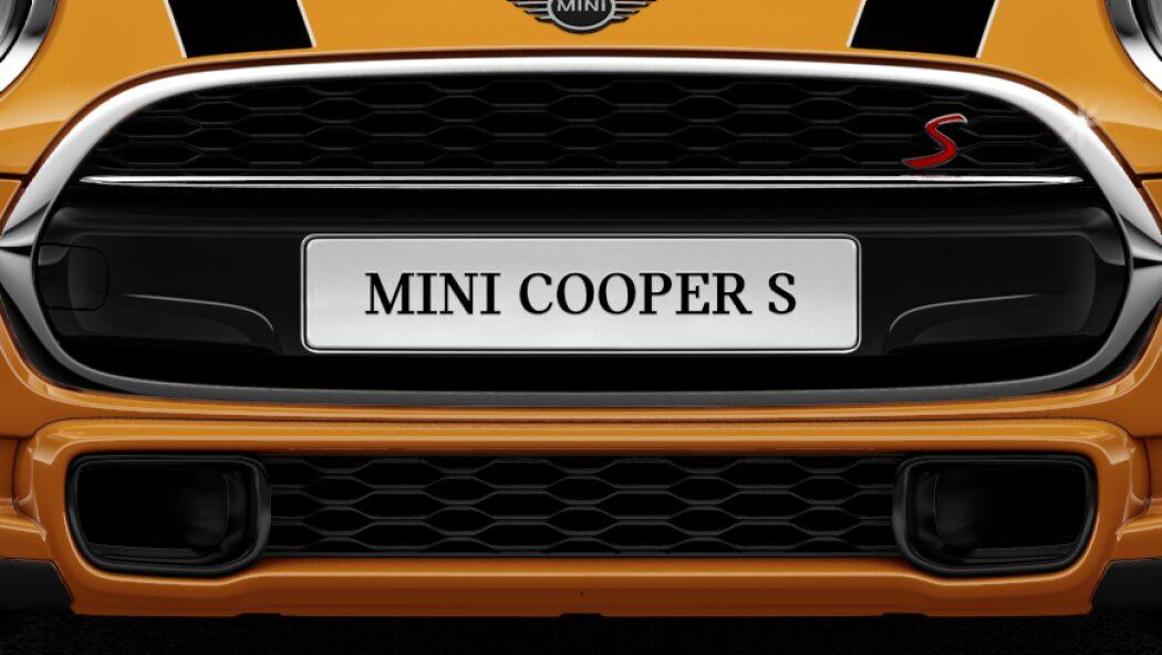MINI Cooper S 3 Door Grille.