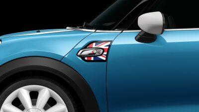 MINI Cooper S Hatch 5-Door union jack side scuttles