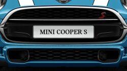MINI Cooper S Hatch 5-Door black honey comb patterned grille