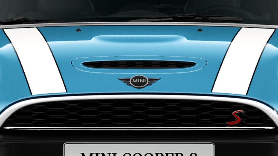 MINI Cooper S Hatch 5-Door air scoop bonnet
