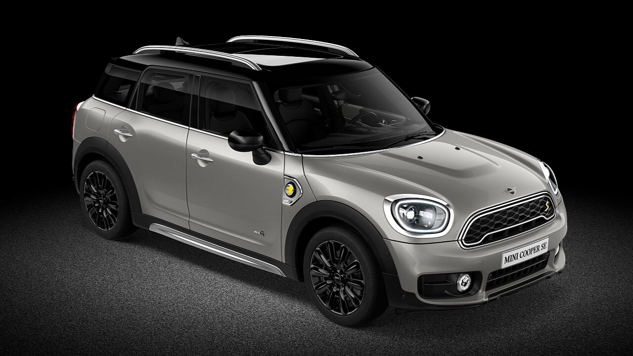 Колір кузова MINI Countryman Melting silver - ЕЛЕКТРИЧНИЙ.