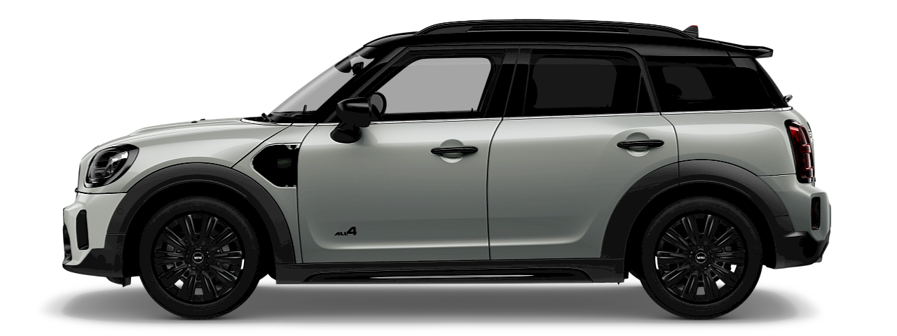 MINI Countryman S E side view