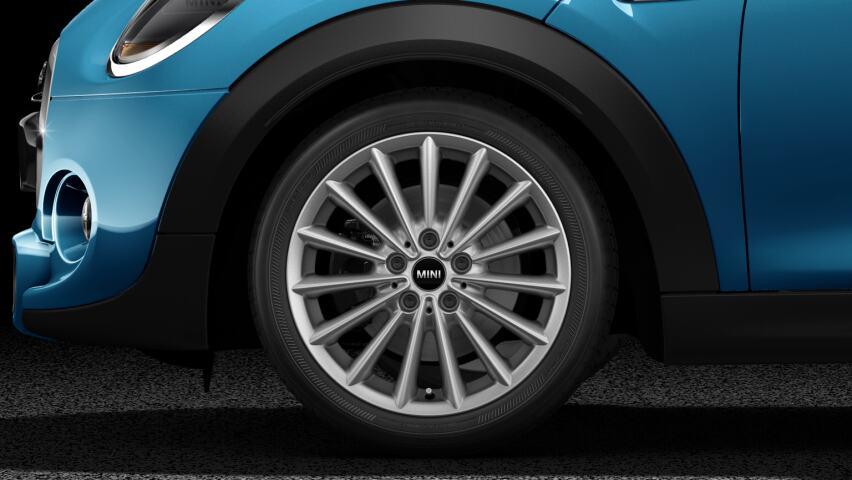 """17"""" multi-spoke light alloy wheels"""