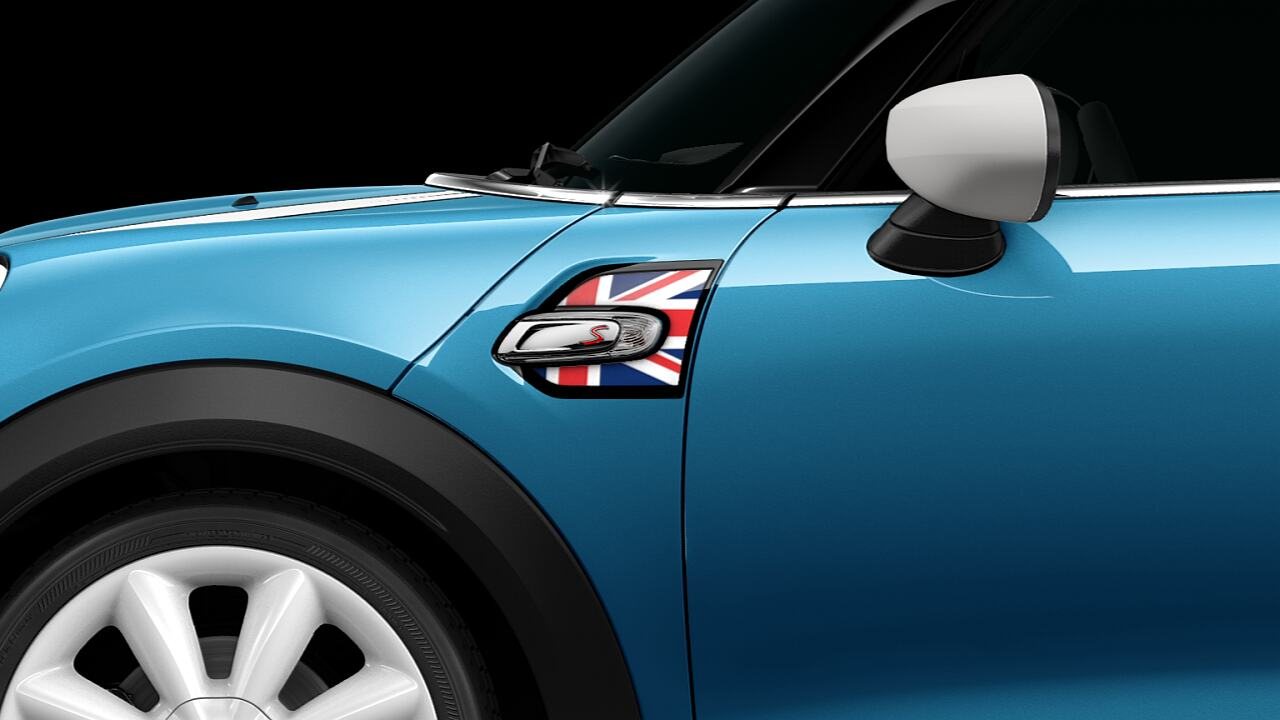 MINI Cooper S Hatch 5-Door union jack side scuttles