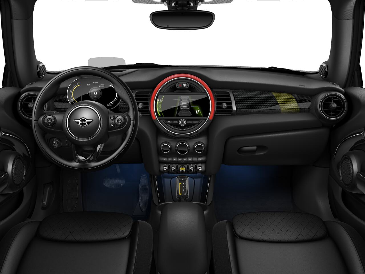 Mini electric – Package L – interior view - dashboard