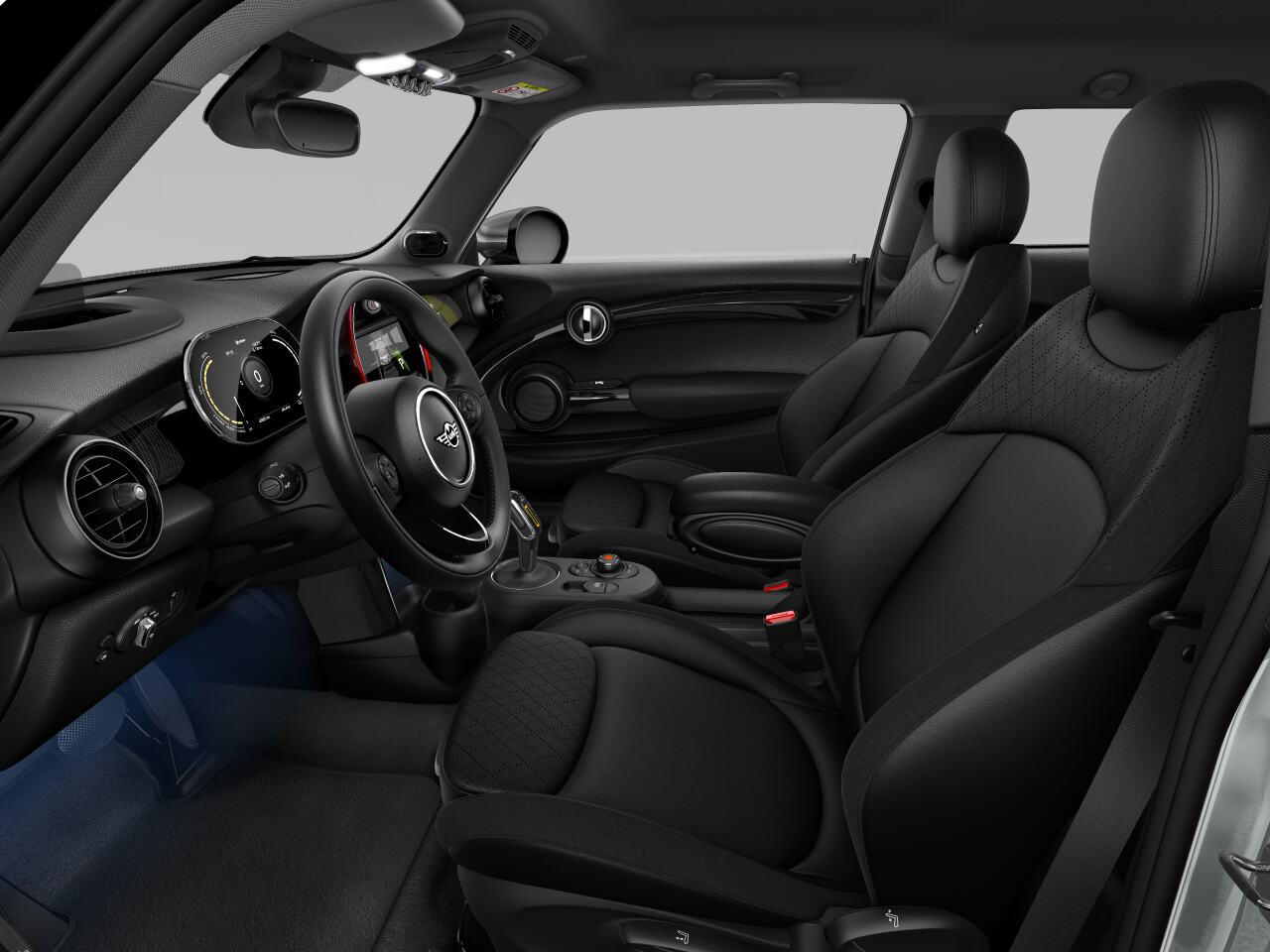 Mini electric – Package L – interior view - driver's side